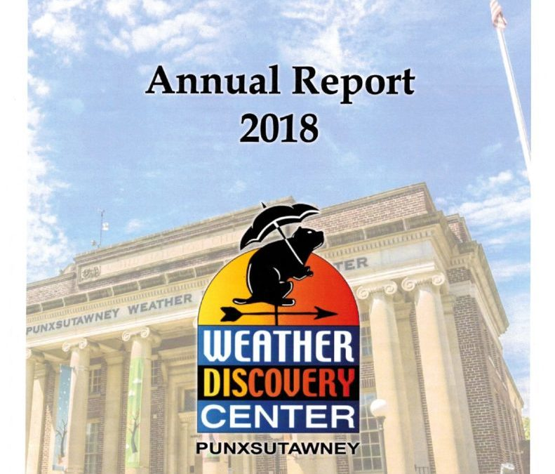 2018 Annual Report of the Weather Discovery Center Now Available
