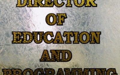 Job Posting: Director of Education and Programming