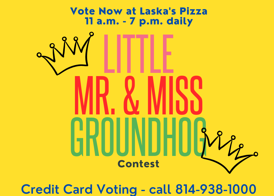 Voting underway for 2021 Little Mr. & miss Groundhog