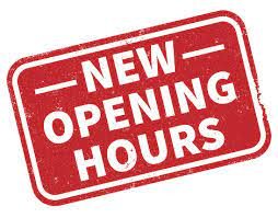 Expanded hours begin may 2 with Sunday openings